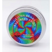 CannaCo THC Infused Gummy Bears - Assorted Flavours (400mg THC)