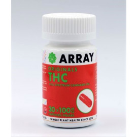 Array THC Capsules - 100mg THC (30 Count Bottle)
