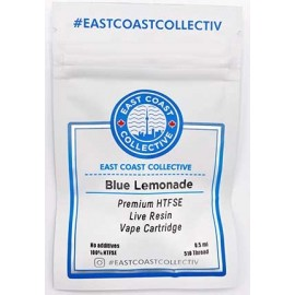 Premium Live Resin Vape Cartridge | Blue Lemonade