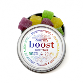 Boost CBD Gummies - Assorted Flavours (300mg CBD)