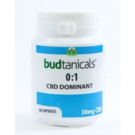 Budtanicals CBD Capsules - 30mg CBD (60 Count Bottle)