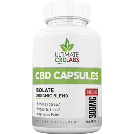 Ultimate CBD Capsules 300MG