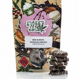 Sweet Jane - Milk and White Chocolate Covered Pretzels (150 mg THC Per Pack)