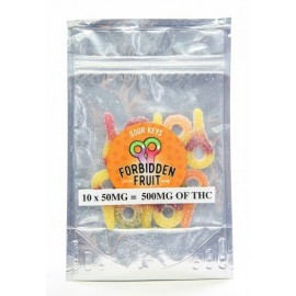Forbidden Fruit - Sour Keys (500mg THC per pack)