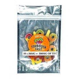 Forbidden Fruit THC Sour Keys (500mg THC per pack)