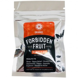 Forbidden Fruit Hard Candy - Orange (100mg THC)