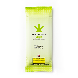 Kush's Kitchen Milk Chocolate Bar (400mg THC)