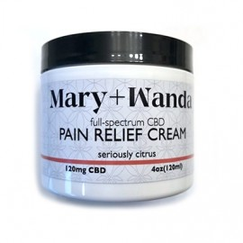 Mary + Wanda CBD Pain Relief Cream - Serious Citrus