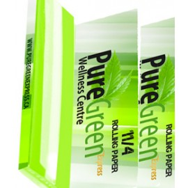 Pure Green Organic Rolling Papers 3-Pack
