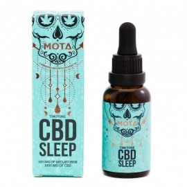 Mota CBD Sleep Tincture (1000mg CBD/150mg Melatonin)