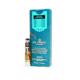BC Trees Sour Diesel - 0.5ml Refill Cartridge - 68% THC
