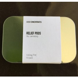 Relief Pods - 100 mg THC (10 pack)