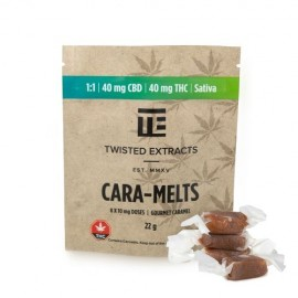 Cara-Melts - 1:1  - 40mg THC/40mg CBD (Sativa - CBD)